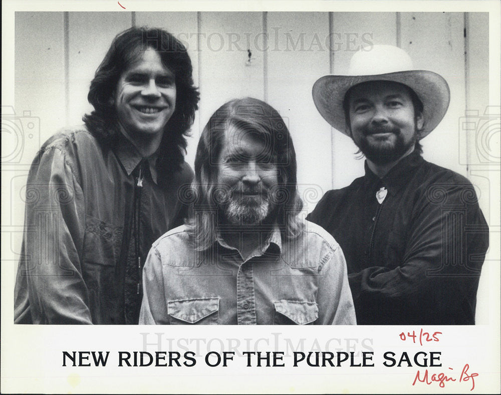 Press Photo NONE New Riders Purple Sage Band Country Rock - Historic Images