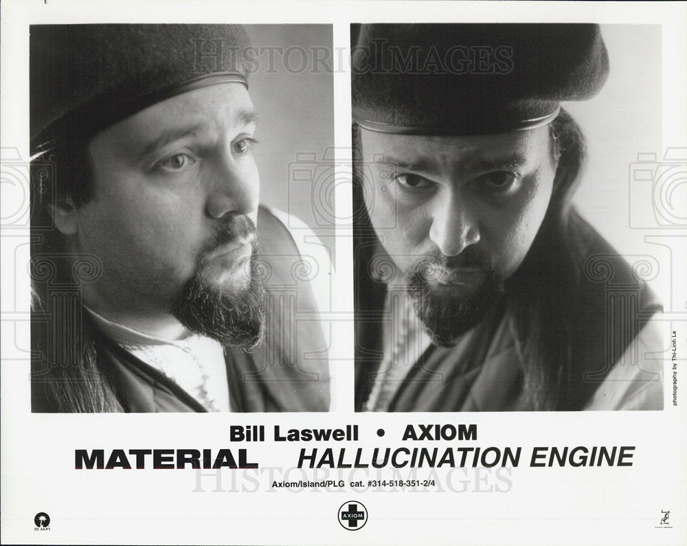Press Photo Bill Laswell Axiom Material Hallucination Engine band Musicians - Historic Images
