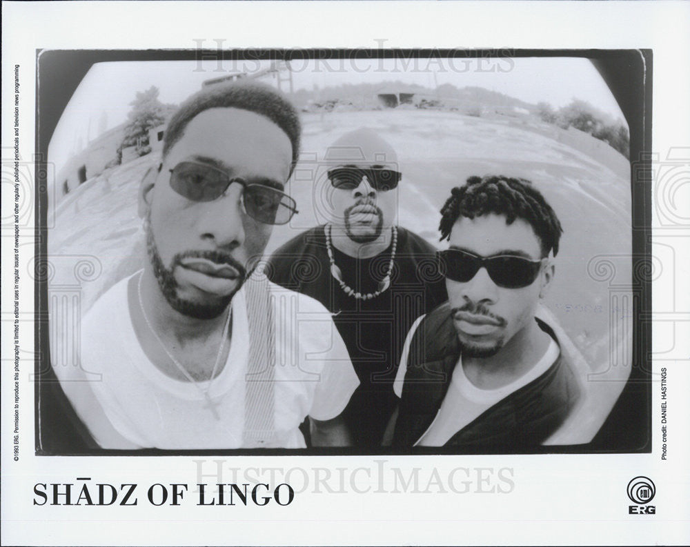 1993 Press Photo Shadz of Lingo Musicians entertainers - Historic Images