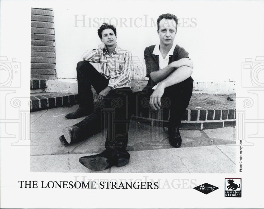 Press Photo Lonesome Strangers Musical Group - Historic Images