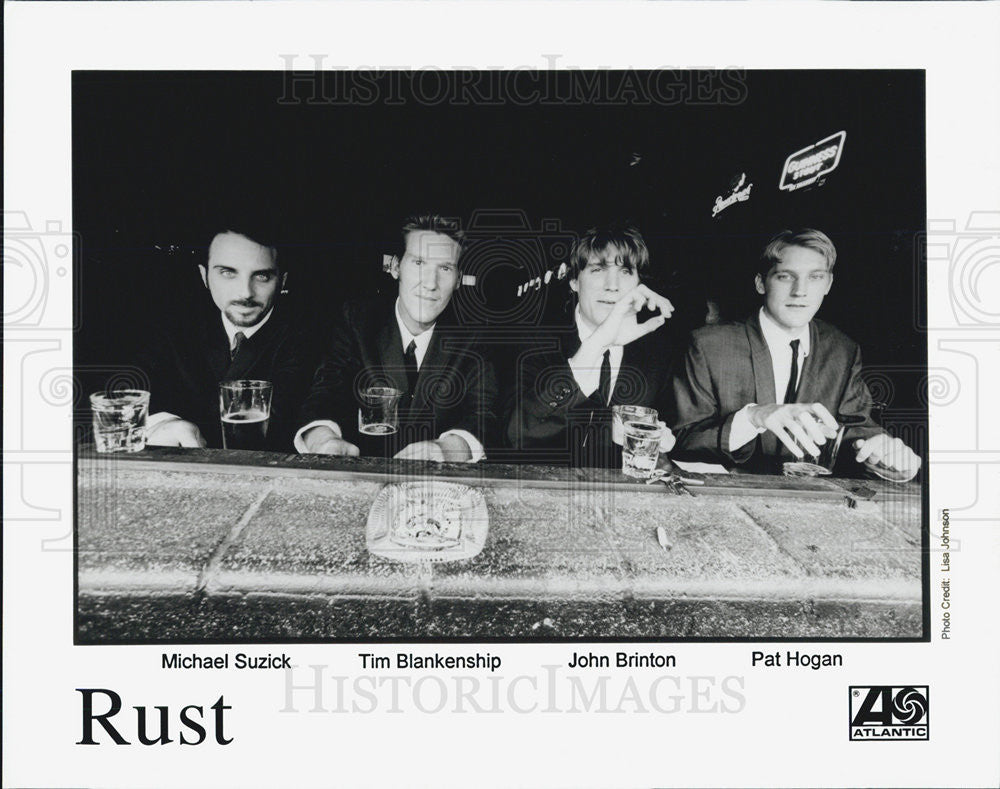 Press Photo Rust Michael Suzich Tim Blanekship John Brinton Pat Hogan - Historic Images