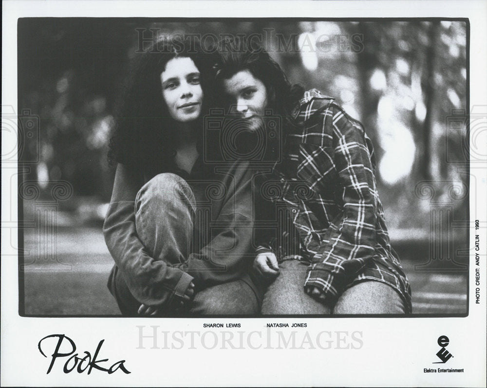1993 Press Photo Sharon Lewis Natasha Jones Pooka Musical Group - Historic Images