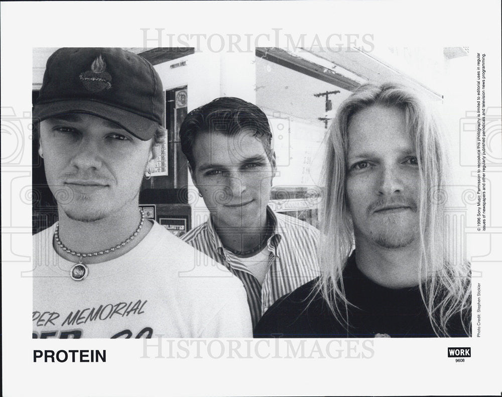 1996 Press Photo Protein Musical Group - Historic Images