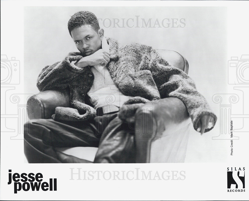 Press Photo Jesse Powell Musician - Historic Images