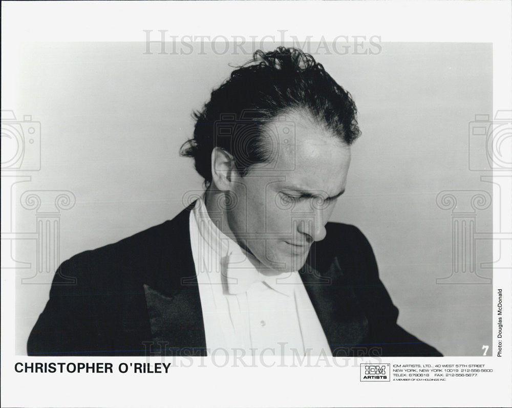 Press Photo Christopher O'Riley American Classical Pianist Public Radio Host - Historic Images