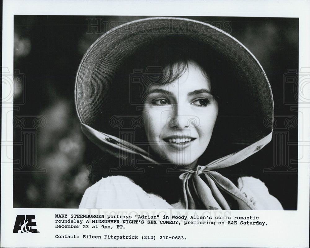 Press Photo Mary Steenburgen A midsummer nights Sex Comedy - Historic Images