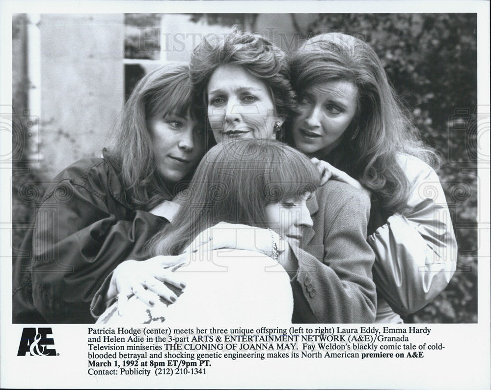 Press Photo Patricia Hodge Laura Eddy Emma Hardy Helen Adie Television Actor - Historic Images