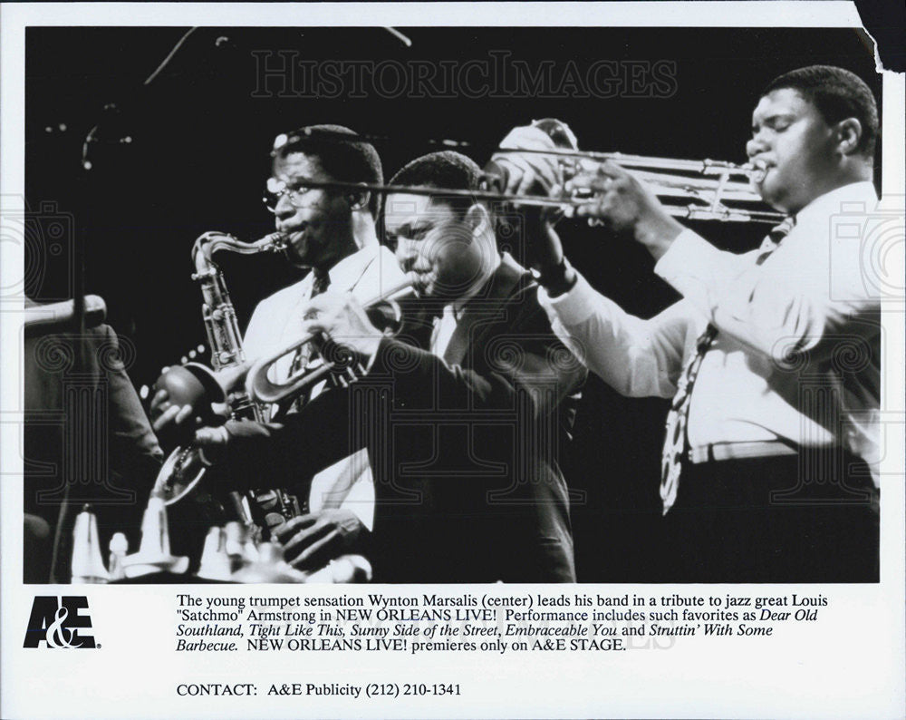 Press Photo Wynton Marsalis - Historic Images