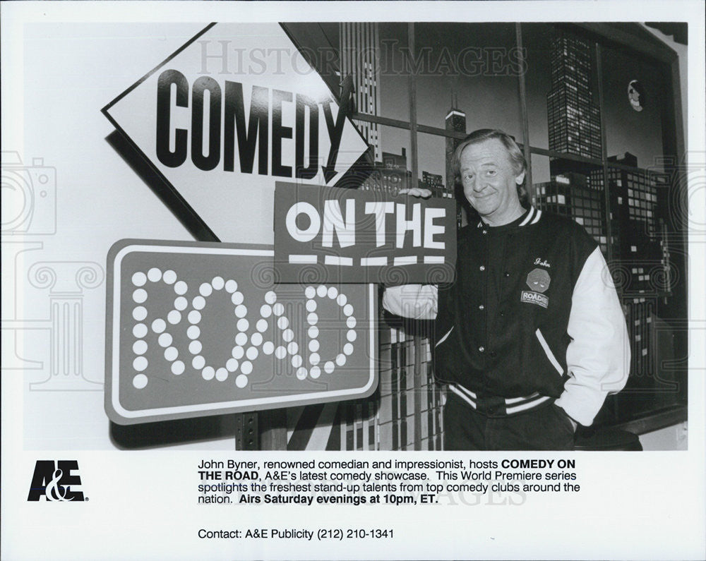 Press Photo Comedy on the Road - Historic Images