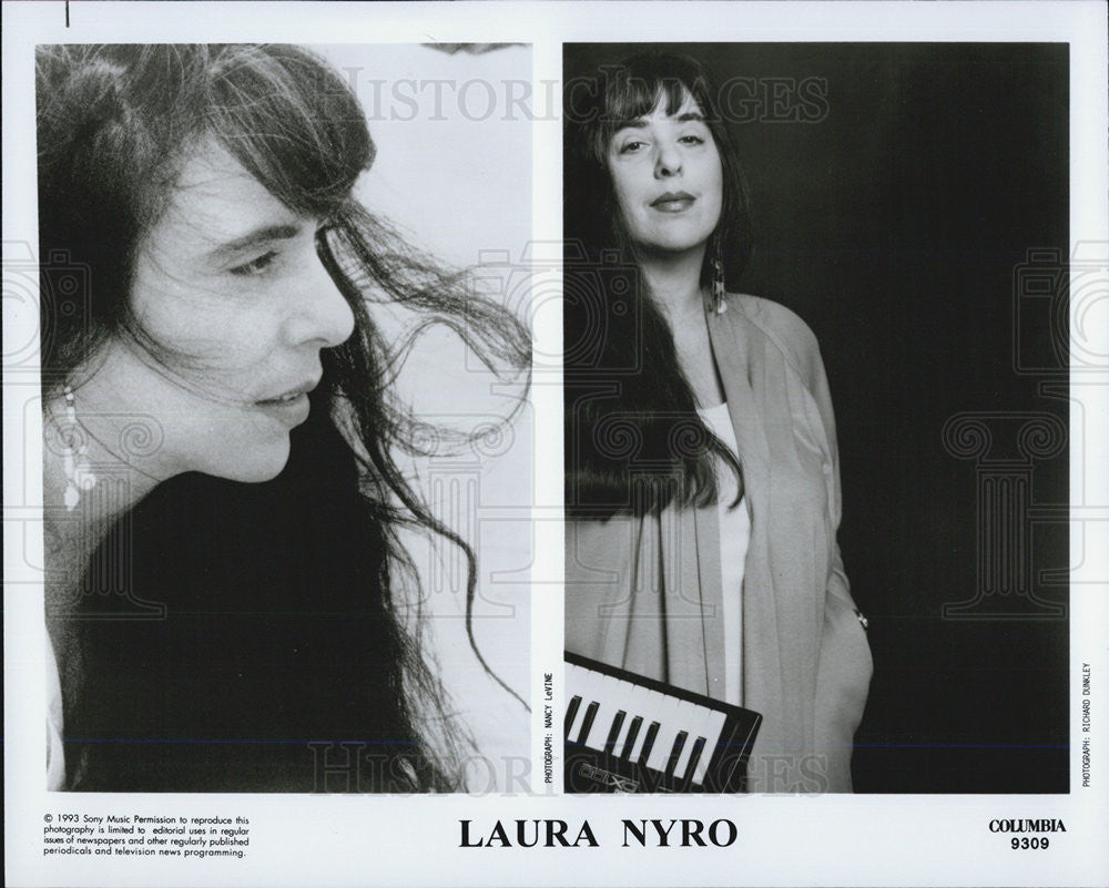 1993 Press Photo Laura Nyro - Historic Images