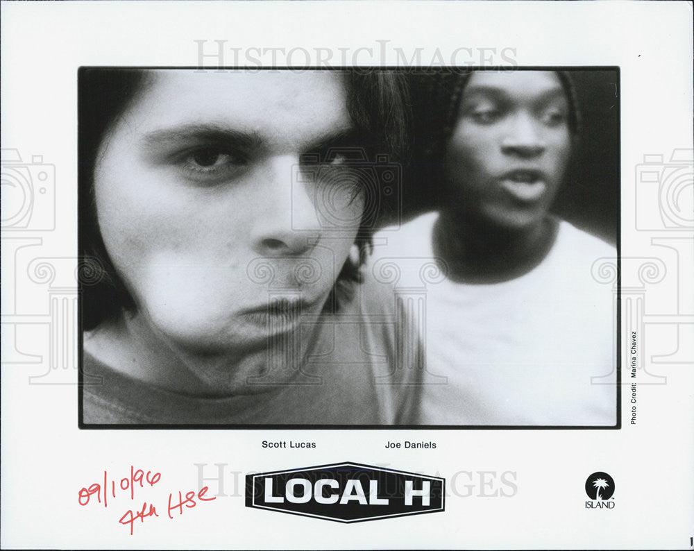 1996 Press Photo Local H - Historic Images