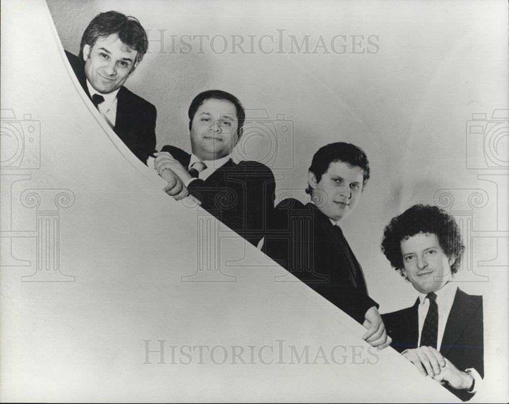 1989 Press Photo Entertainers Rohan De Saram Levine Andrade David Alberman - Historic Images