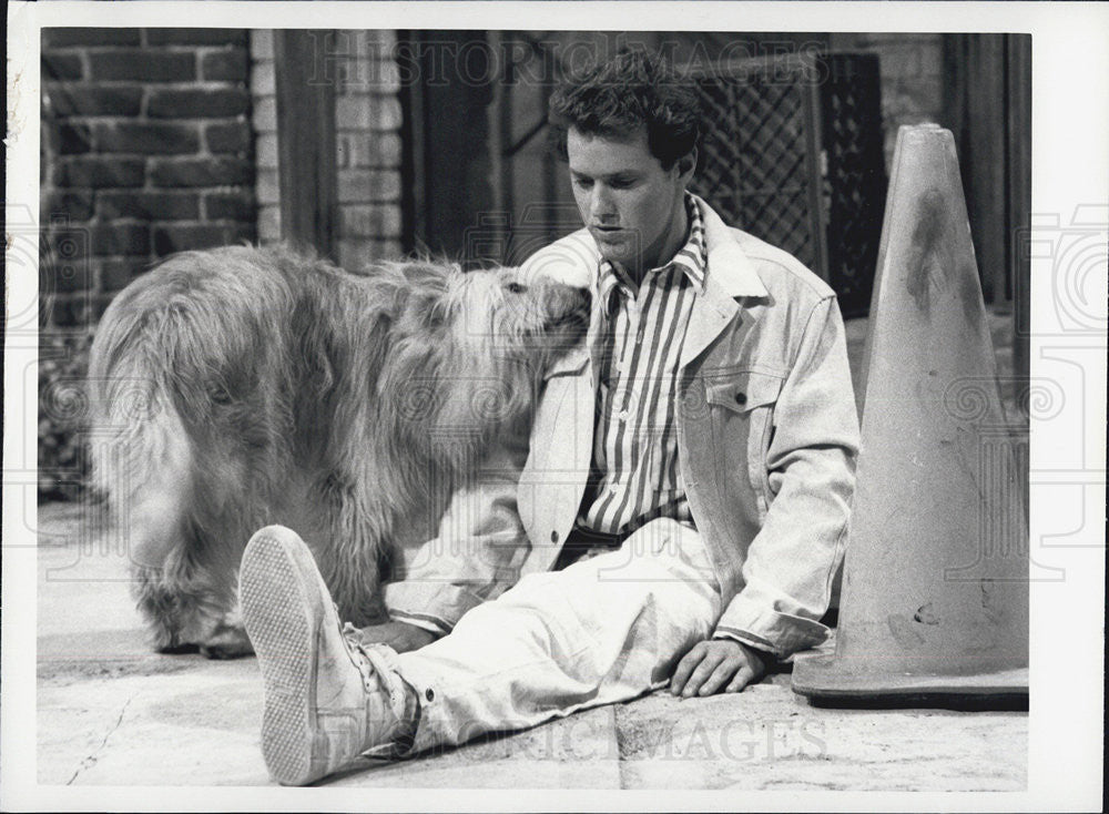 1986 Press Photo Raphael Sbarge Actor Shaggy Dog Episode Better Days - Historic Images
