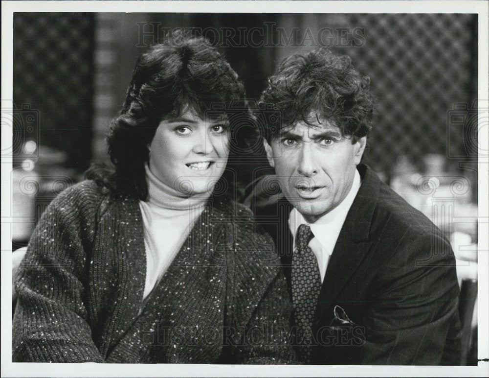 "1986 Press Photo Rosie O'Donnell on ""Gmime a Break"" - Historic Images"