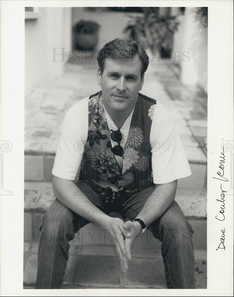 Press Photo Dave Coulier Comedian - Historic Images