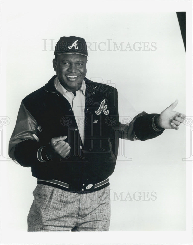 Press Photo Comedian George Wallace - Historic Images