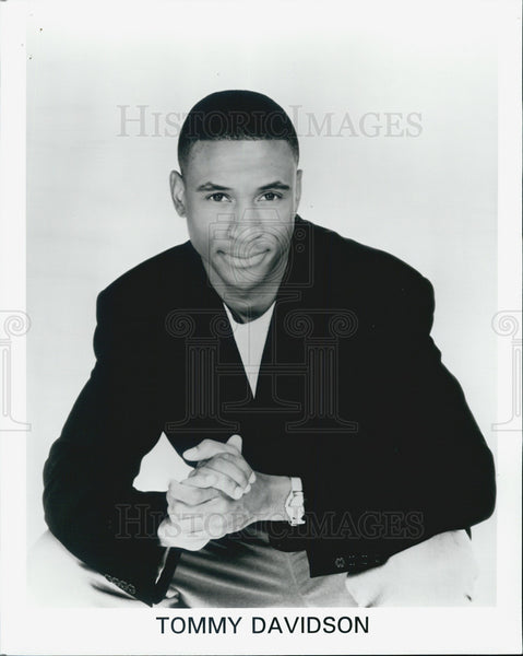Press Photo Tommy Davidson, comic. - Historic Images