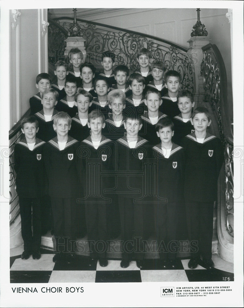 Press Photo The Vienna Choir Boys - Historic Images