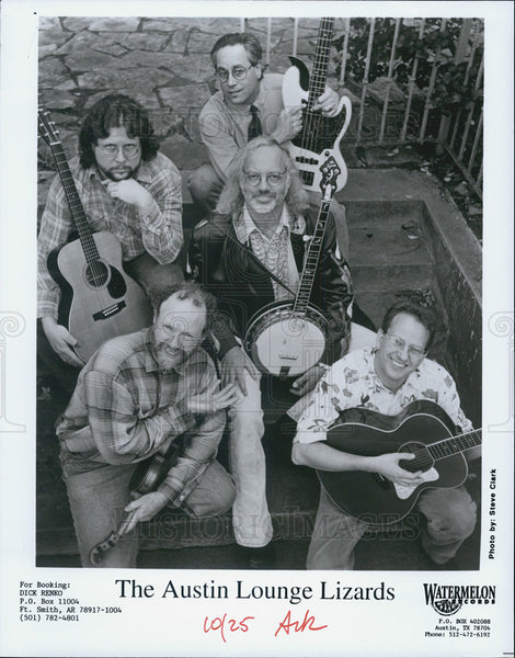 Press Photo The Austin Lounge Lizards - Historic Images
