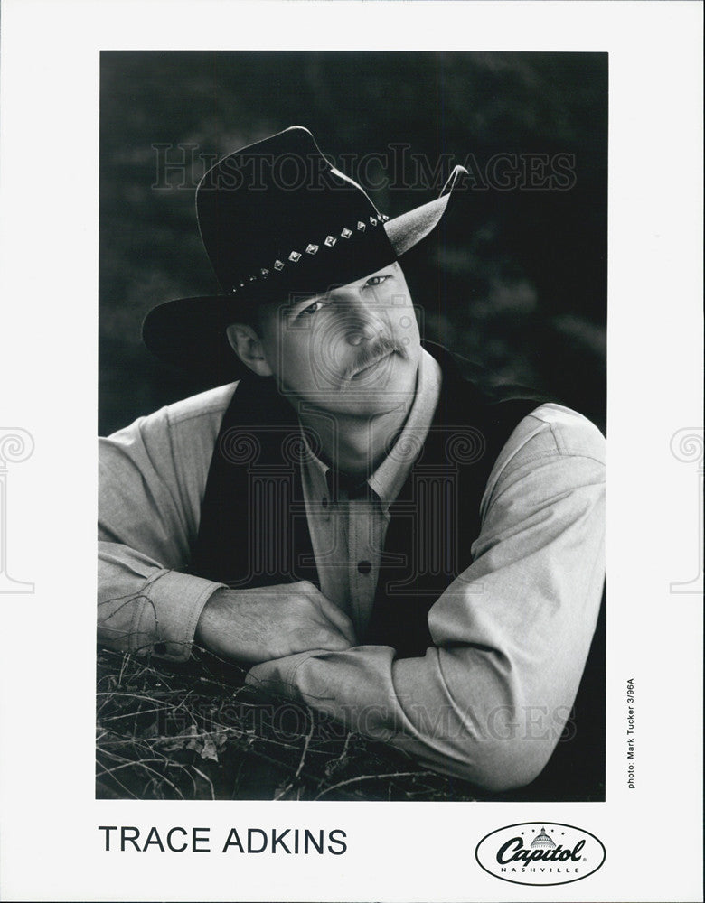 1996 Press Photo Trace Adkins - Historic Images