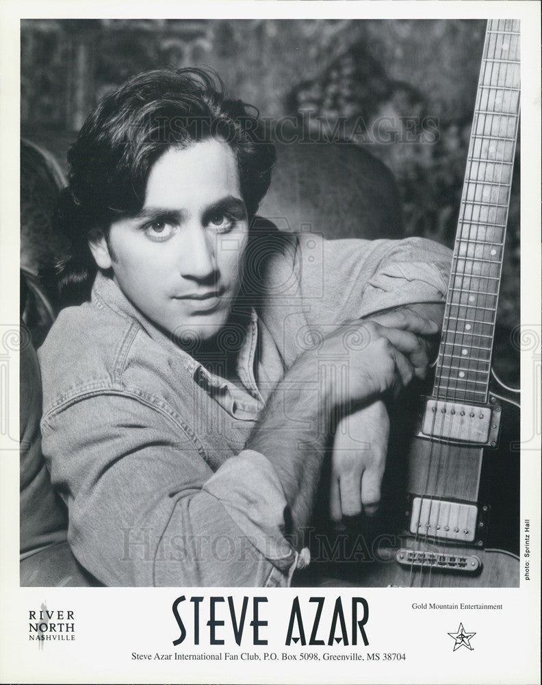 Press Photo Steve Azar Musician - Historic Images