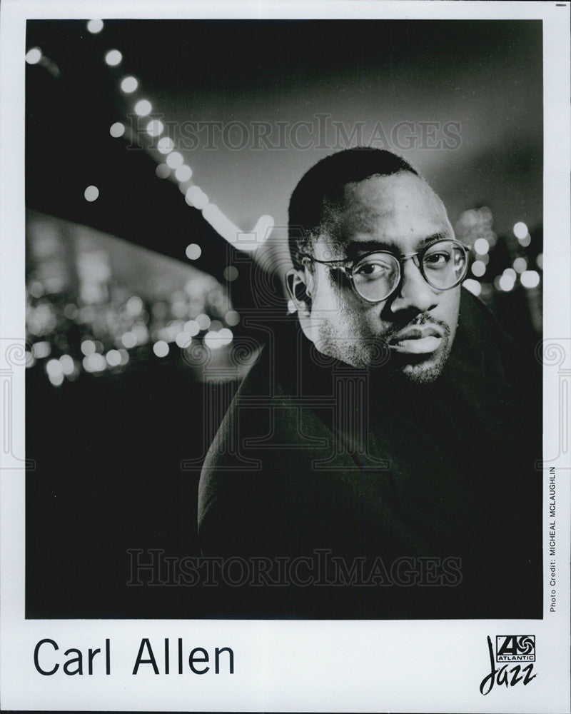 Press Photo Carl Allen Jazz - Historic Images