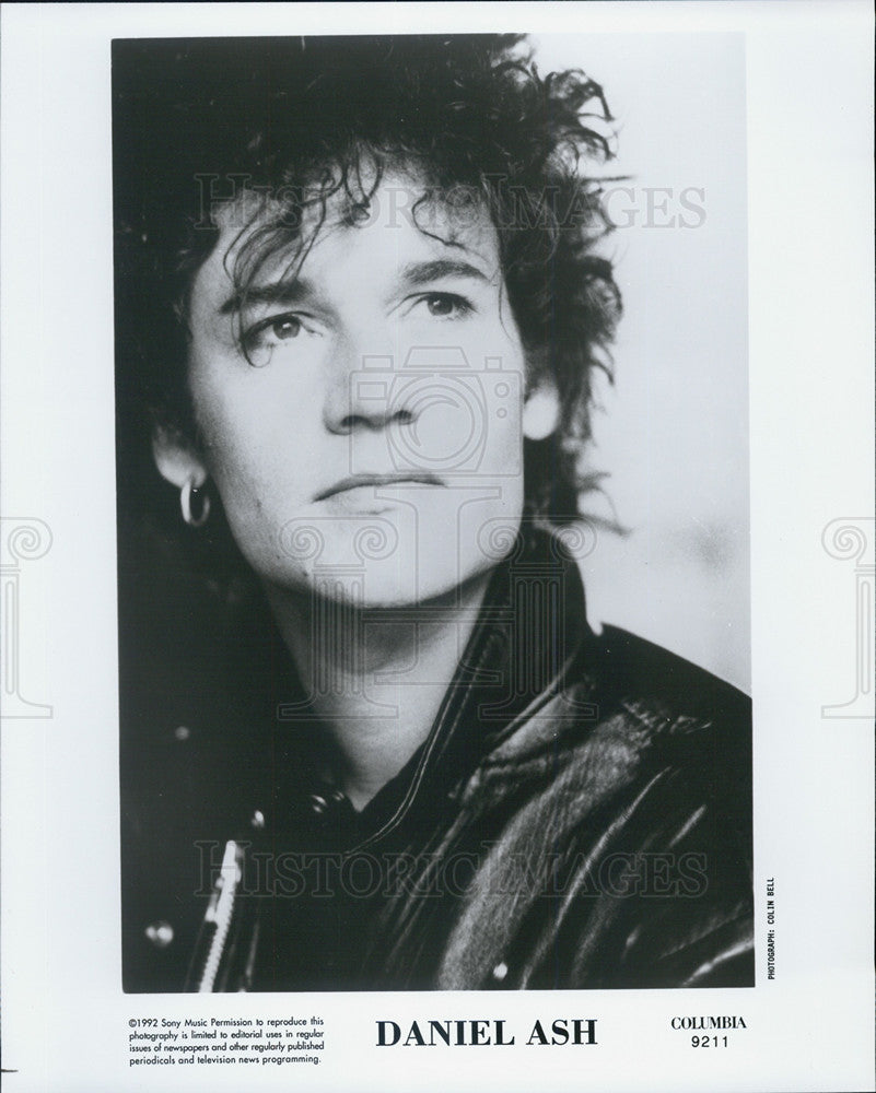 1992 Press Photo Daniel Ash Musician Guitarist - Historic Images