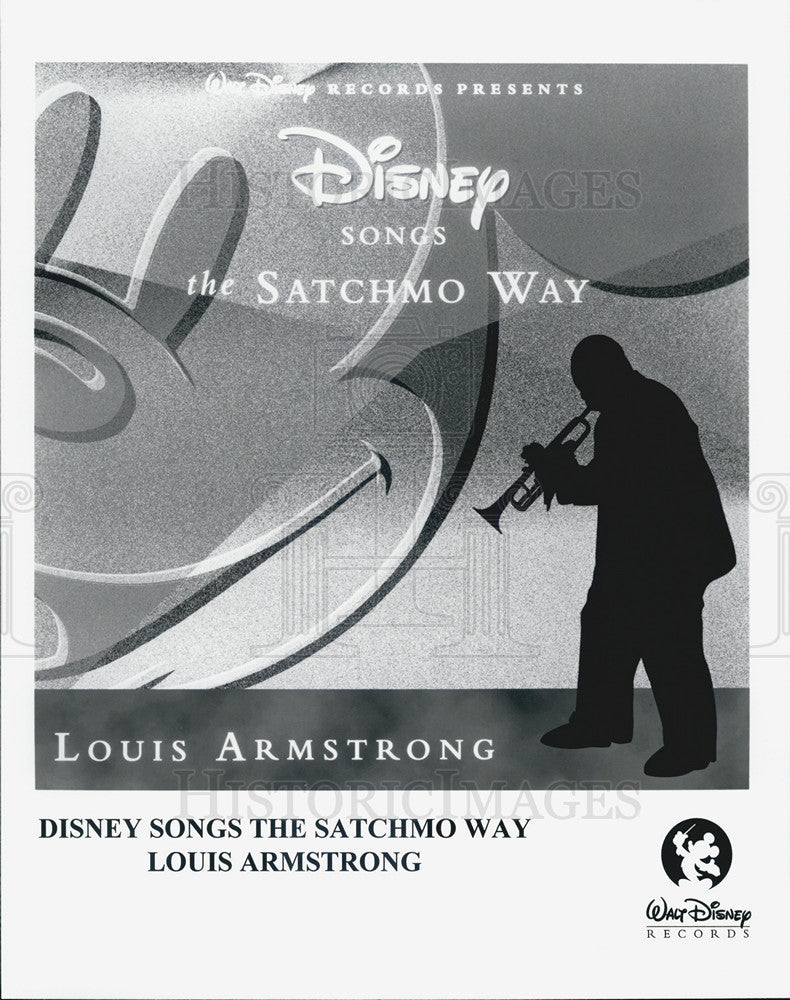 Press Photo Disney Songs The Satchmo Way Louis Armstrong - Historic Images
