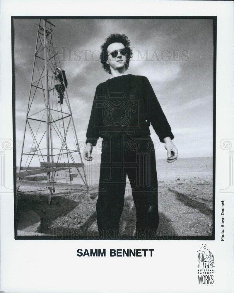 Press Photo Samm Bennett - Historic Images