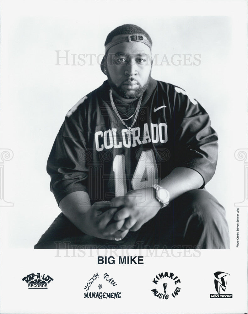 1997 Press Photo Big Mike, singer - Historic Images