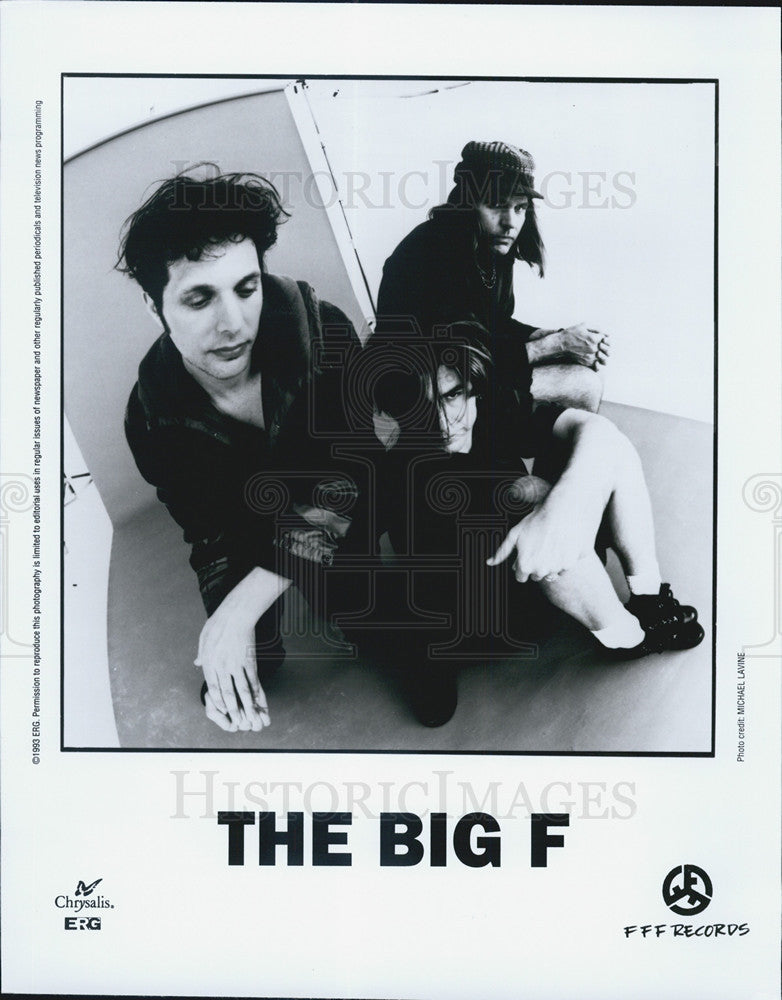1993 Press Photo The Big F band - Historic Images