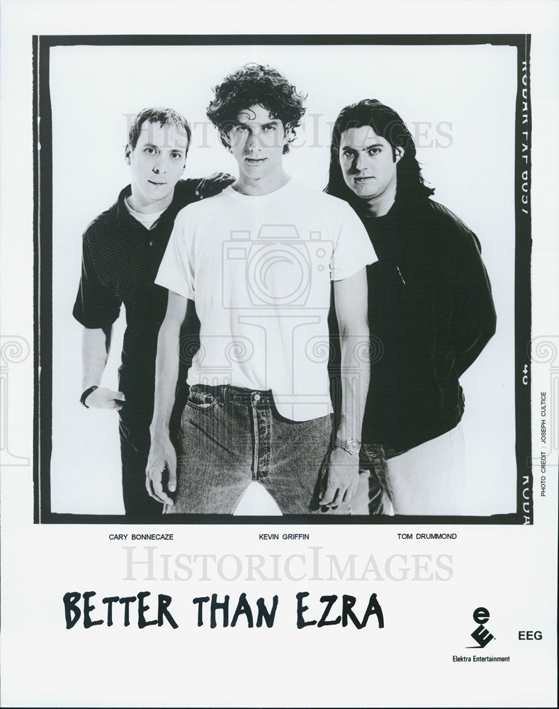 Press Photo Cary Bonnecaze Kevin Griffin Tom Drummond Better Than Ezra Band - Historic Images