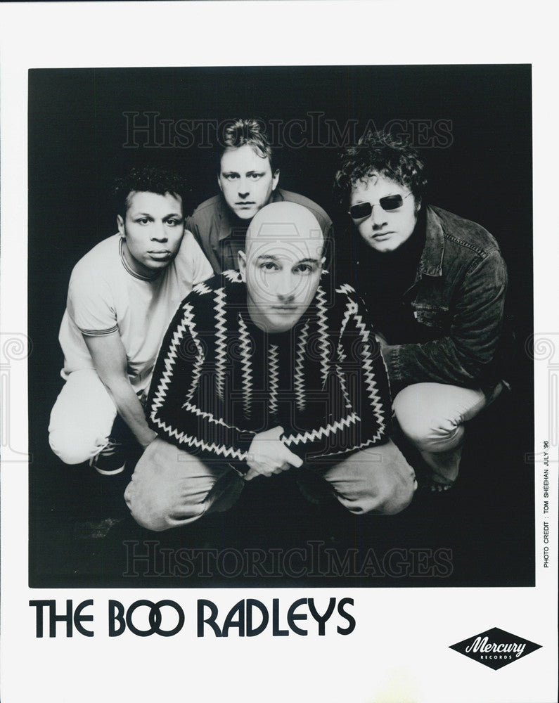 Press Photo The Boo Radleys,band - Historic Images