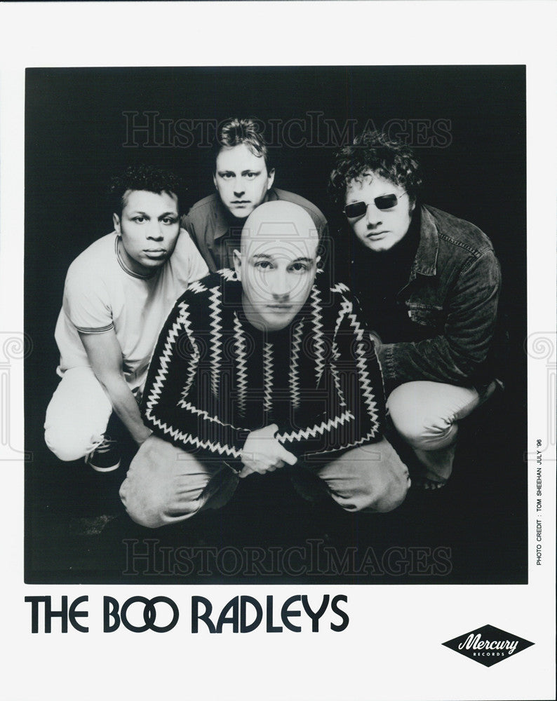 1996 Press Photo The Boo Radleys entertainers musicians band - Historic Images