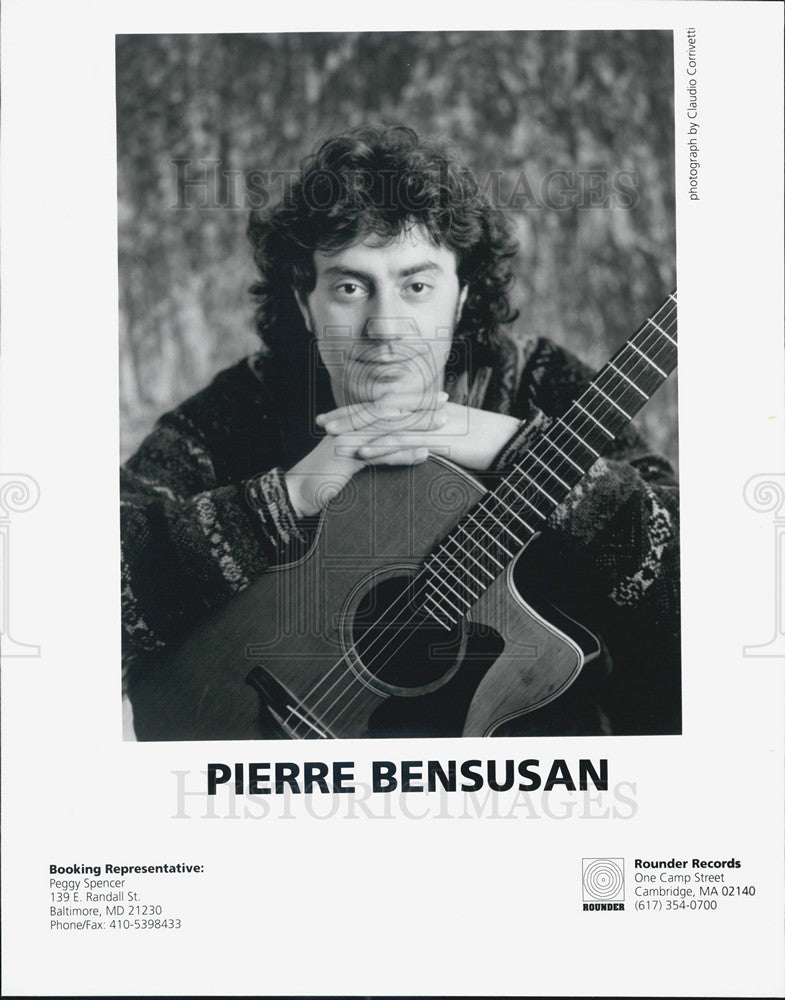 Press Photo Pierre Bensusan Musician - Historic Images
