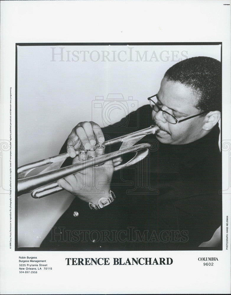 1996 Press Photo Terence Blanchard Musician - Historic Images