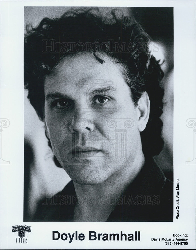 Press Photo Doyle Bramhall Singer Songwriter Drummer - Historic Images