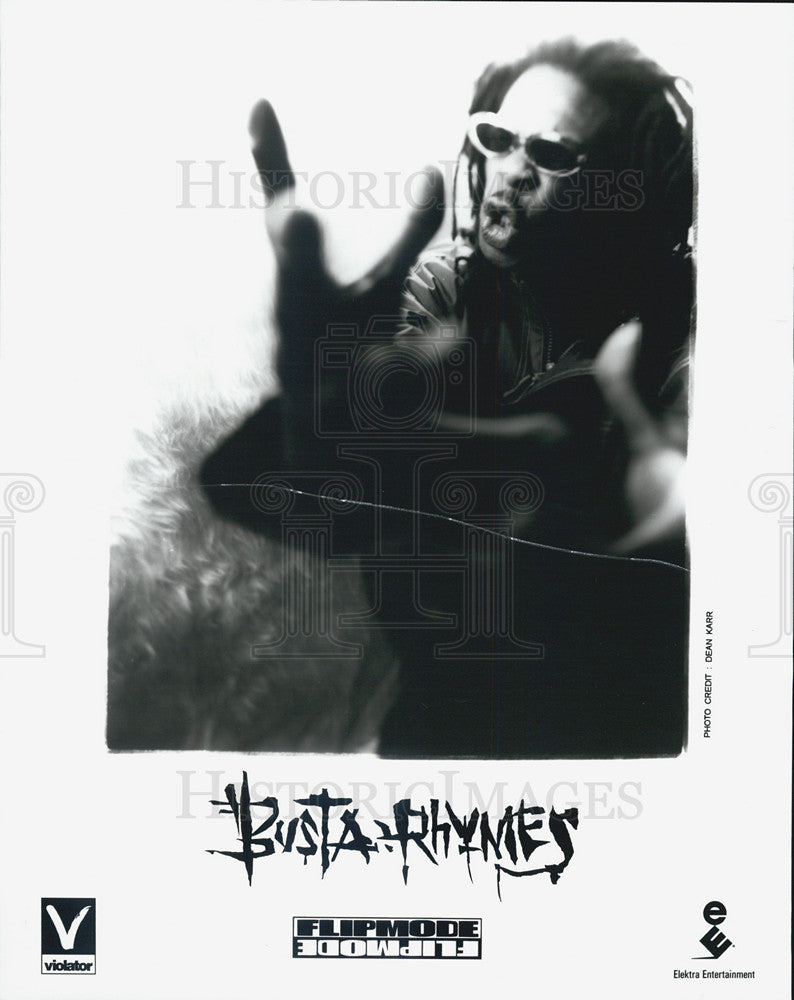 Press Photo Busta Rhymes - Historic Images