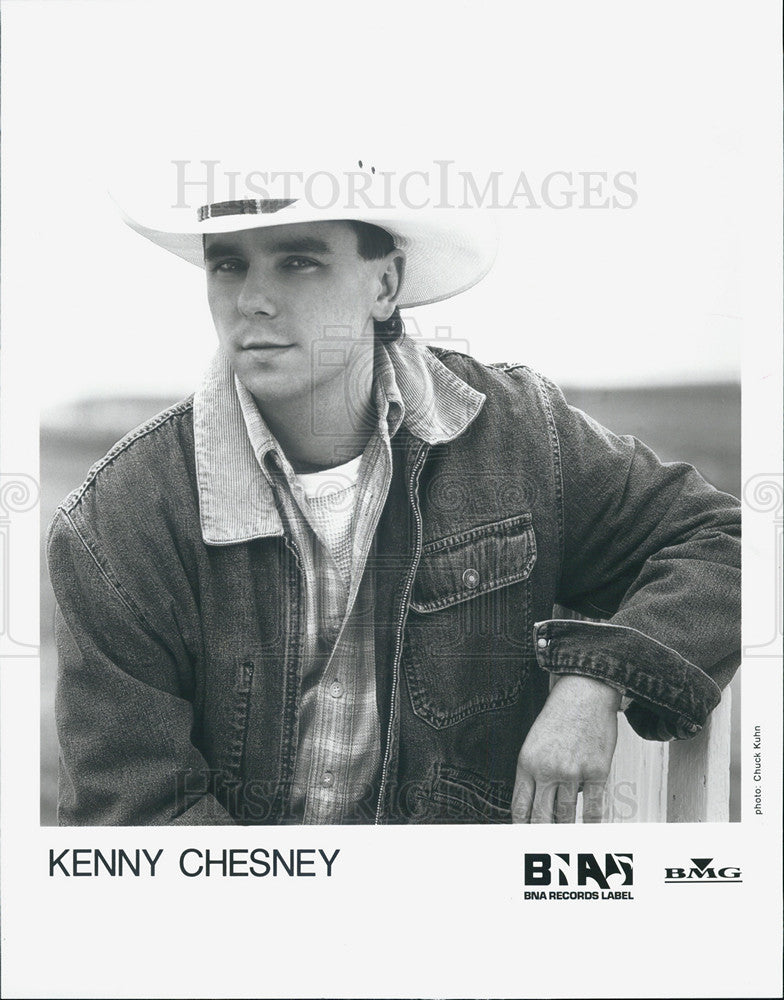 Press Photo Kenny Chesney Musician - Historic Images