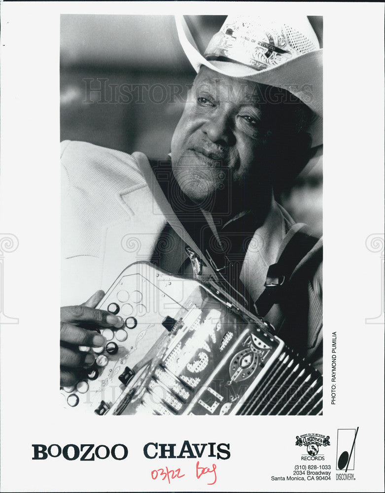 Press Photo Boozoo Chavis Musician - Historic Images