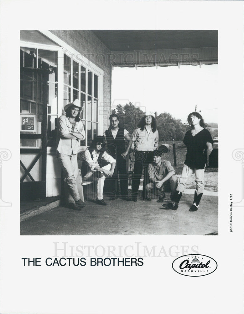 Press Photo Band,The Cactus Brothers - Historic Images