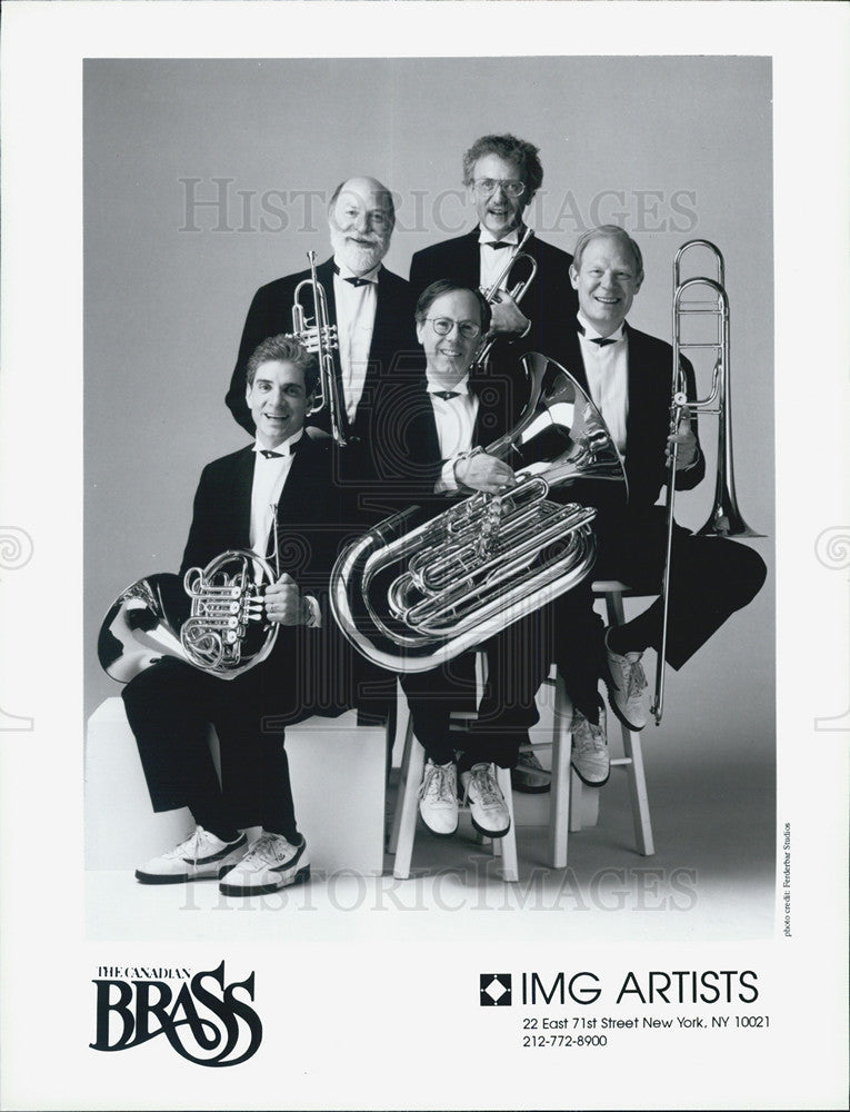 Press Photo The Canadian Brass - Historic Images