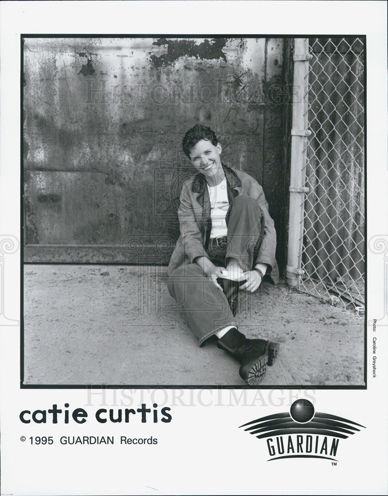 1995 Press Photo Catie Curtis Musician - Historic Images