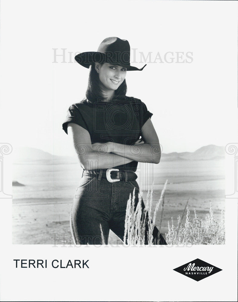 Press Photo Country Singer Terri Clark - Historic Images