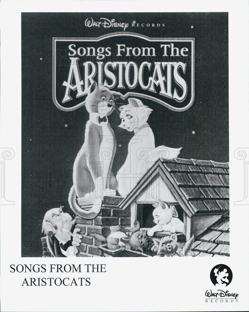 Press Photo Ad for Walt Disney Songs from the Aristocts - Historic Images