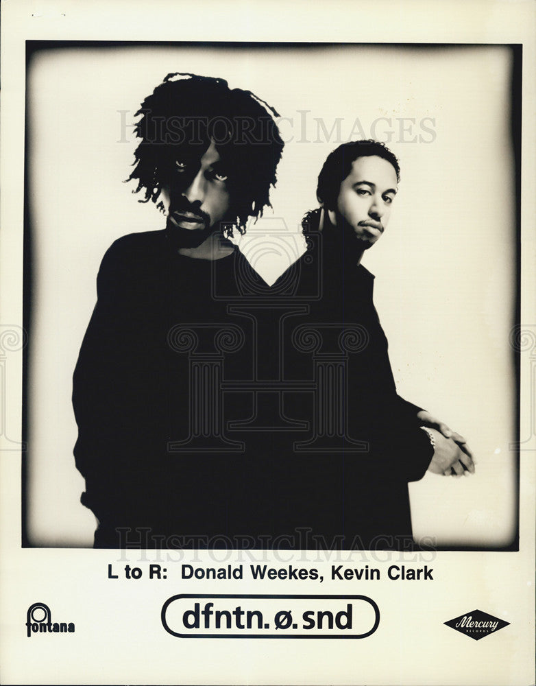Press Photo Donald Weekes, Kevin Clark - Historic Images