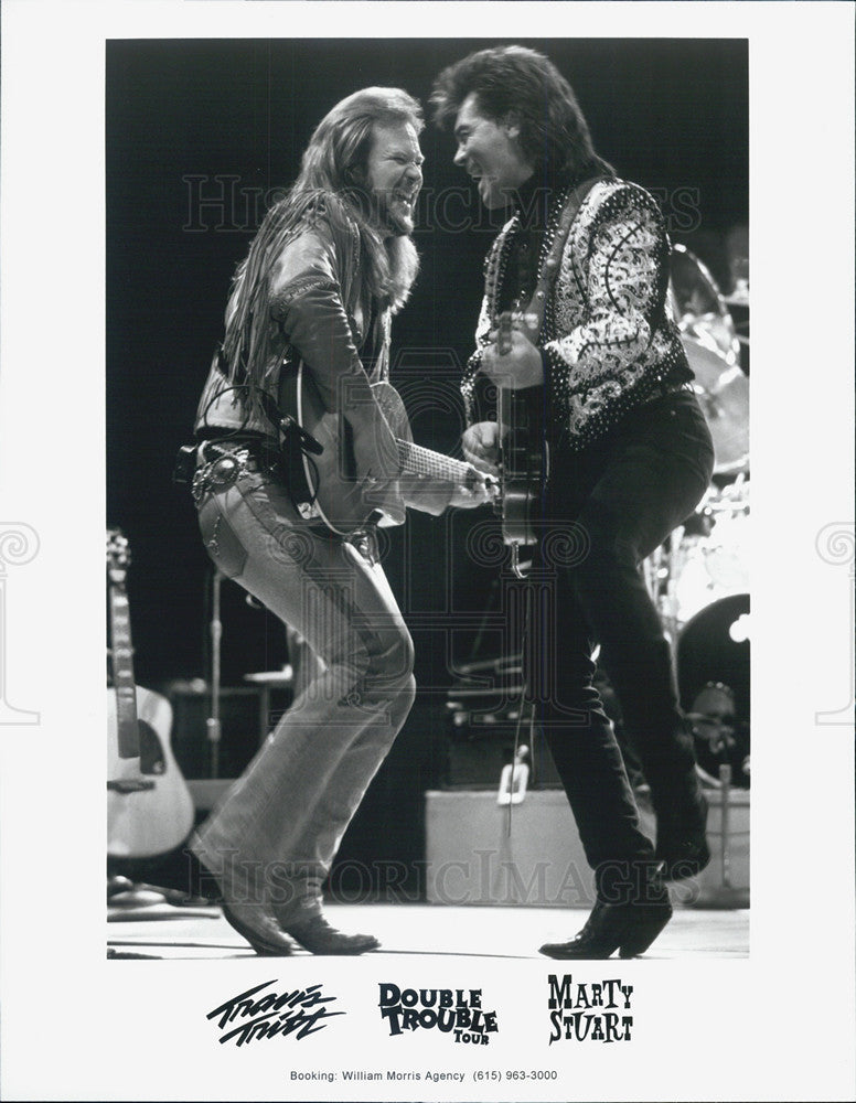 Press Photo Travis Tritt, Marty Stuart, Double Trouble - Historic Images