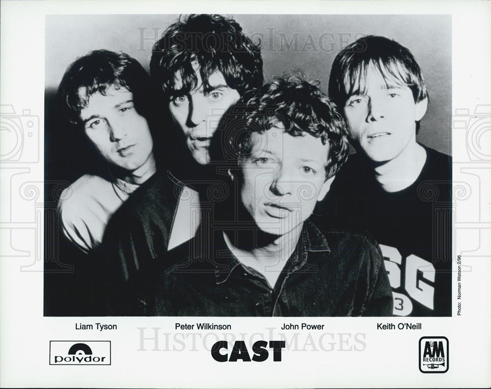 Press Photo Cast  an English rock band from Liverpool, formed in 1992. - Historic Images
