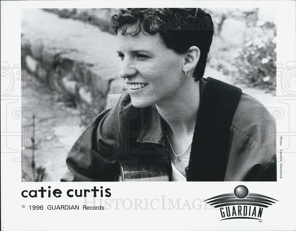 1996 Press Photo Singer Catie Curtis - Historic Images