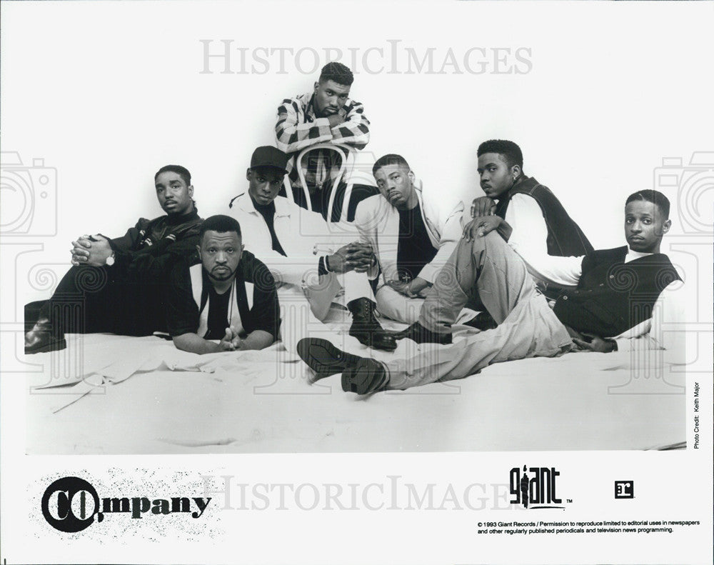 1993 Press Photo Company: Giant Records - Historic Images
